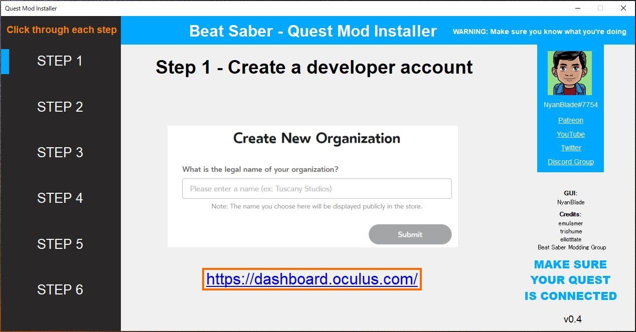 Oculus Quest】Beat Saber Quest Installer でカスタム曲を遊んでみる